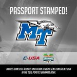 Middle Tennessee (@MT_FB) has accepted a bid to the 2015 Popeyes Bahamas Bowl! #PassportToKickoff https://t.co/gzkKPNsJ1f