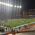 I have a feeling I will need my ear plugs tonight. This place is going to be LOUD! @UF #GoGators #BeatFSU https://t.co/B0eTWomMqx