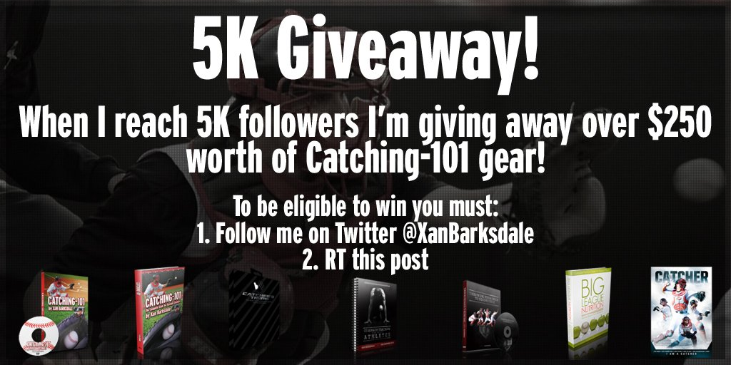 HUGE Giveaway when I reach 5K followers (I'm really close!). Follow me and RT 2B eligible (winner chosen randomly). https://t.co/1leNcw5mLQ