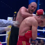 .@Klitschko is wobbled by a huge left but is DEDUCTED 1 point for back of the head hitting https://t.co/i2fyVrFowu https://t.co/hRDphPkCgx