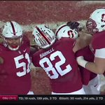 ITS GOOD. @ConradUkropina from 45 yards!!! Stanford 38, Notre Dame 36. #GoStanford #BeatND https://t.co/Ge15GlWbyh