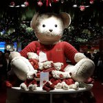 You cant miss the 2015 Harrods Christmas Bear #harrods #christmas #london https://t.co/6LJ8zfql02 https://t.co/9LPn4ubt0m