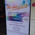 Pangako Sa 'Yo Thanksgiving Day at Ayala Fairview Terraces, 5pm! See you there guys! ????❤️ #PSYThanksgivingDay https://t.co/IYWUjE6Um6