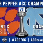 Game time and network for the 2015 Dr Pepper ACC Championship announced: https://t.co/Nvq94ugFHT #ACCFCG https://t.co/0rIXFdgFQs