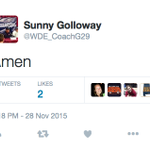 Former Auburn baseball coach Sunny Golloway minutes after Alabama wins the Iron Bowl https://t.co/nBKmm2H62a