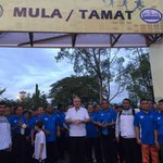 Larian sempena Hari Keputeraan Sultan Perak Sultan Nazrin Shah di Kuala Kangsar pagi tadi. #PerakToday https://t.co/tJsEvSeq1A