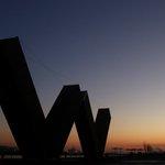 #NewWest sunset @Van_Biennale #wowwestminster https://t.co/y2RXfkAa39