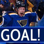 BLUES GOAL! Vladimir Tarasenko hits the post, then scores a minute later. Great power-play and it's 1-1. #CBJvsSTL https://t.co/PHyJpqFR4g