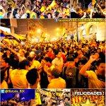 Hace 3 años, a ésta hora el país se paralizó festejando al CAMPEÓN, BARCELONA S.C.  ¡UN SOLO ÍDOLO TIENE EL ECUADOR! https://t.co/gw2nYwRN9j