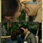 That FIRST NOSE -TO-NOSE, MKAMATAY PUSO!. SCREAM and SHOUT!???????? @mainedcm @aldenrichards02 #SPSLaughWins https://t.co/KBQwO6JRlR