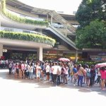 Happening right now at Ayala Fairview Terraces. ???? #PSYThanksgivingDay © https://t.co/F5sL0bDWsK
