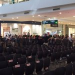 Fans start to flock @FTerraces this early. Wow! This is gonna be a very happy #PSYThanksgivingDay https://t.co/U6E66XOTe8
