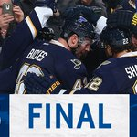 #OurBlues win! Goals from Tarasenko (PPG), Upshall, and Steen (EN) and 23 saves from Allen for a 3-1 win. #CBJvsSTL https://t.co/0XWDuj3eFd