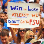 Win or lose! Go Gators!! https://t.co/yeyF7xQklS