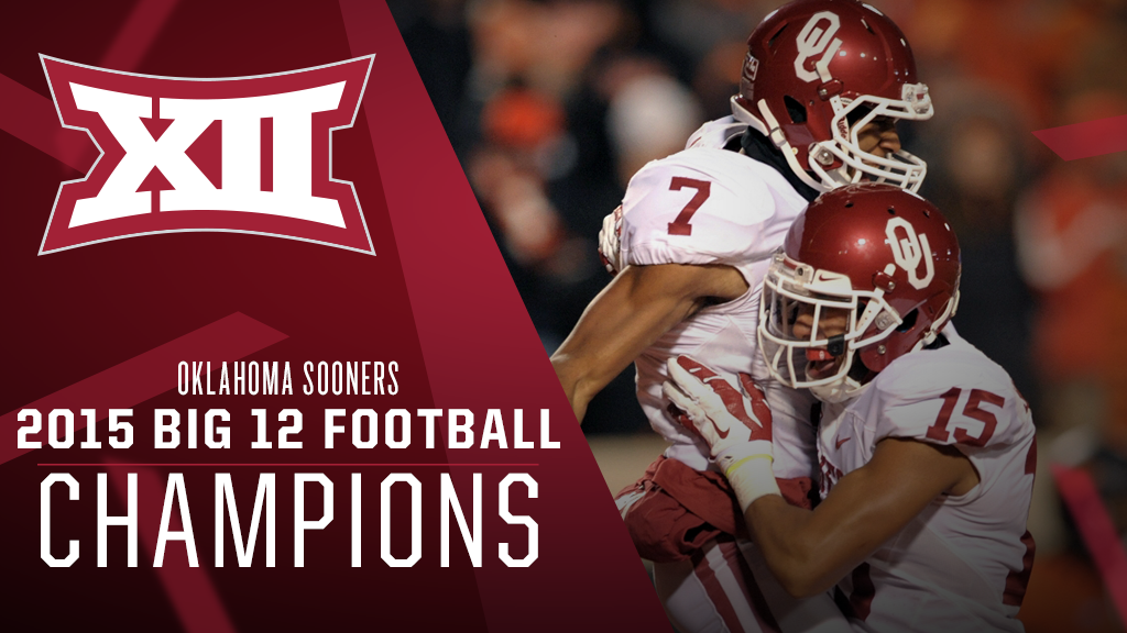 #Big12FB: @OU_Football is the 2015 #Big12 Champion! https://t.co/rNXx44mDjW