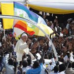HE SAID IT:  Who we are, is more important than what we possess- #PopeInUganda https://t.co/NXyBRoqw0f