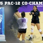 Congrats to @UWVolleyball for earning a share of the #Pac12VB title! https://t.co/1QO1JI3ODG