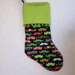 Mustache Christmas Stocking Green Red Black.. https://t.co/e6GLlmjKpe #handmade #Etsy #pottiteam https://t.co/Y0Fl17KLti