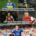 AMAZING: The story of Jamie Vardy. Impossible is nothing. https://t.co/itzME1hFZx