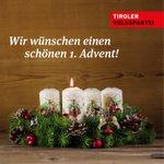 Wir wünschen allen einen besinnlichen Advent-Sonntag! #Advent #InTirol 1.#Kerze #ibktwit #Weihnachten #Adventkranz https://t.co/wASz6l89T0