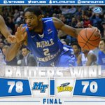 Its a clean sweep! #BlueRaiders beat Toledo and are the champions of the 2015 GCI Great Alaska Shootout!#TrueFamily https://t.co/wmFldq2vM7