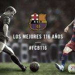 #FCB116 Hoy el Barça cumple 116 años. ¡Muchas felicidades barcelonistas! https://t.co/IXisTXigoX