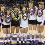 On senior night, @UWVolleyball captures second @pac12 title in past three seasons. Photos: https://t.co/YpubjY18dl https://t.co/BfmwvMkHEU