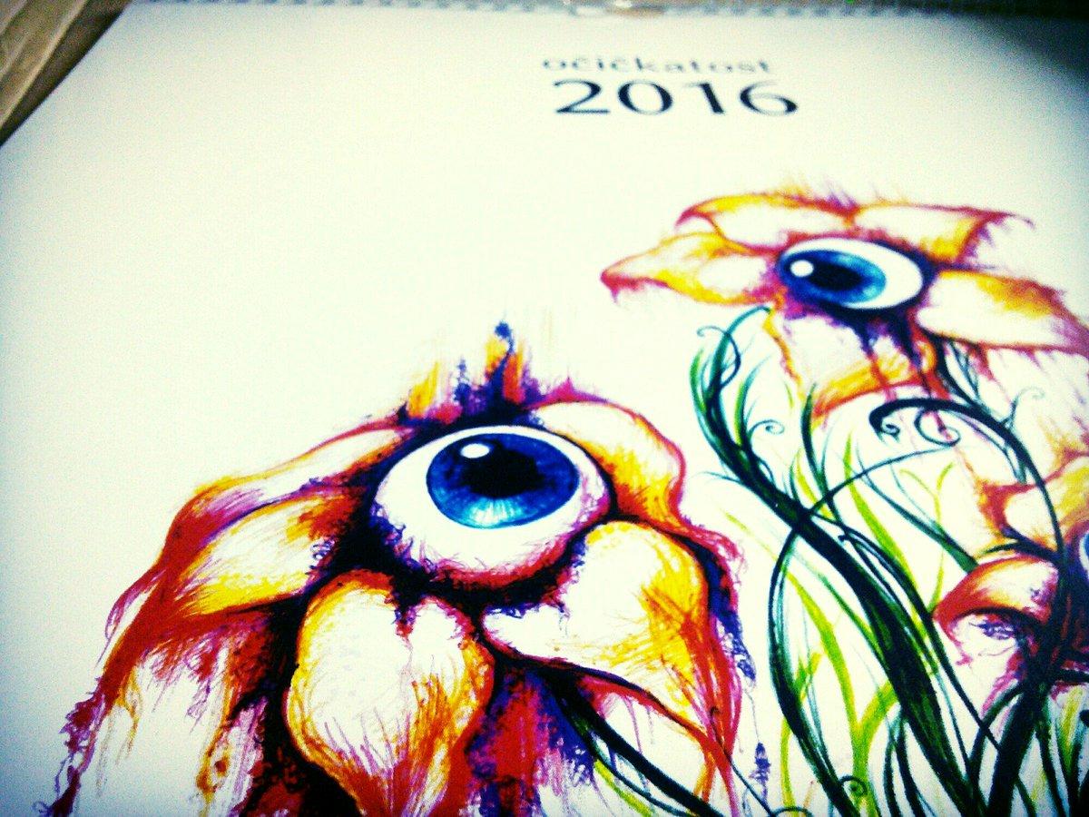 OBJEDNÁVKA kalendáře je venku - křídový papír A3. KLIK: https://t.co/NJLRCwZDaJ  100ks přijde za týden:) #ocickatost https://t.co/EAcE4gu7Fs