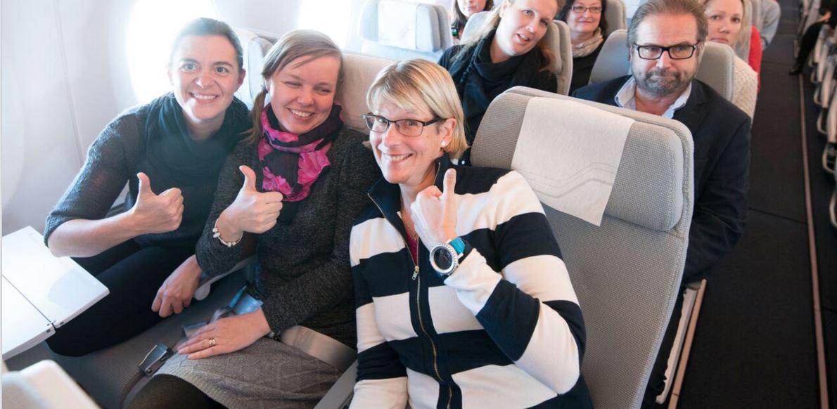 Lennä kanssamme! @eijahakakari bloggasi A350Finnair henkilöstölennoista