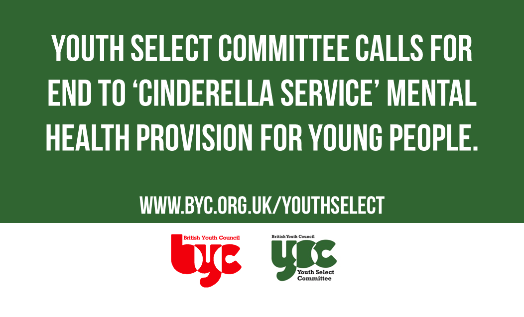Today we launch the #YouthSelect Committee's Report into mental health. https://t.co/7cqOkehfsY https://t.co/a8Bvon91of
