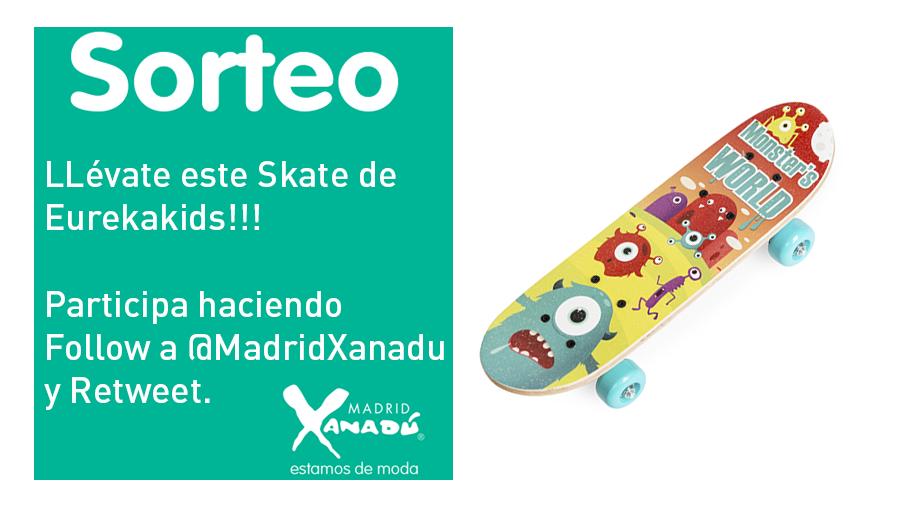 Nuevo Sorteo!! No dejes de conseguir este magnífico Skate de Eurekakids. El viernes publicaremos el ganador. https://t.co/liGaoKRRCO