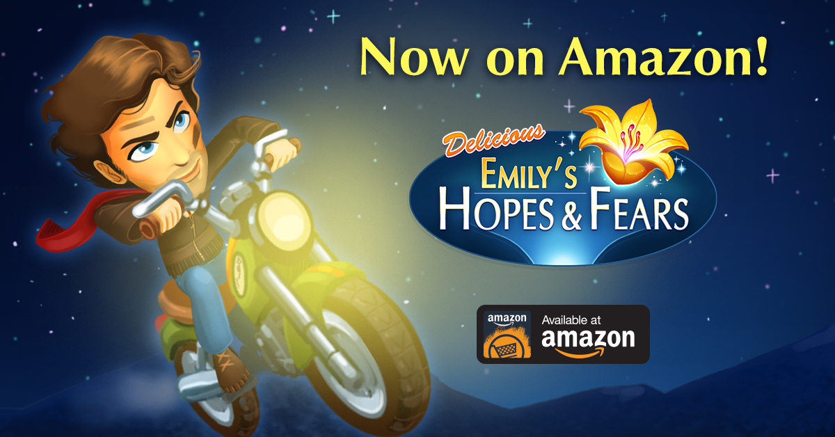 Delicious - Emily's Hopes and Fears exclusively available on Amazon! https://t.co/b8iAbdxqG2 https://t.co/8g7TmauKNc