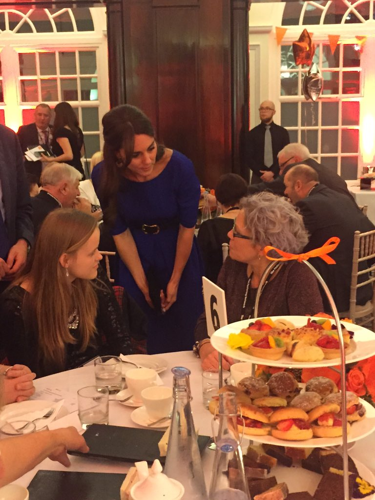 The Duchess is meeting award winners at our Fostering Excellence Awards #TFNAwards https://t.co/Xw2WX4rGM1