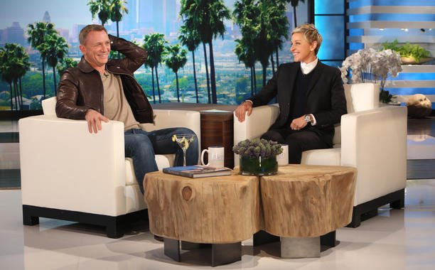 Will he or won't he?! Daniel Craig talks about his James Bond future on @TheEllenShow:
