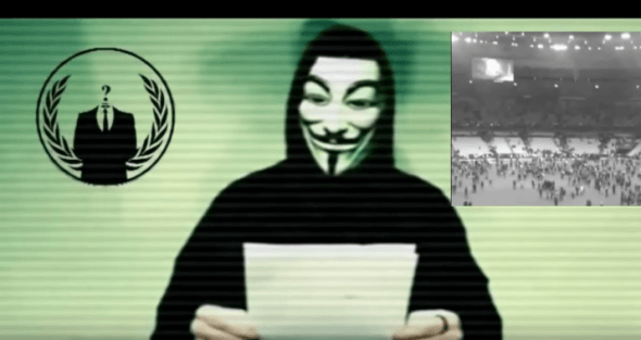 Anonymous has taken down over 5500 ISIS Twitter accounts sinceyesterday https://t.co/m2tDqmXv4V https://t.co/L6OSIO8hbG
