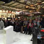 RT @mchoonia: Excellent media presence for the Peugeot Scooters press conference at the 2015 #EICMA. About to start..... https://t.co/UyvE9…