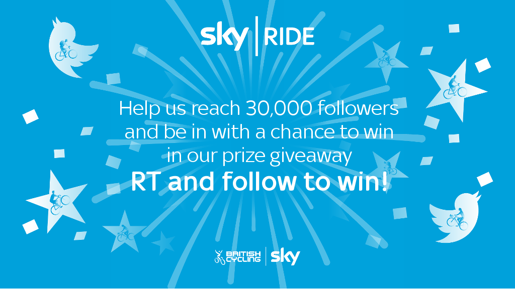 Help us reach 30,000 followers by RT this post and be entered into a prize draw to #win a pair of bike lights... https://t.co/faKLQLmWjY