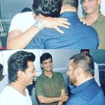 Surprise Visitor on the sets of #GreatGrandMasti - Laughter &  More @BeingSalmanKhan https://t.co/GplZd1bPzw