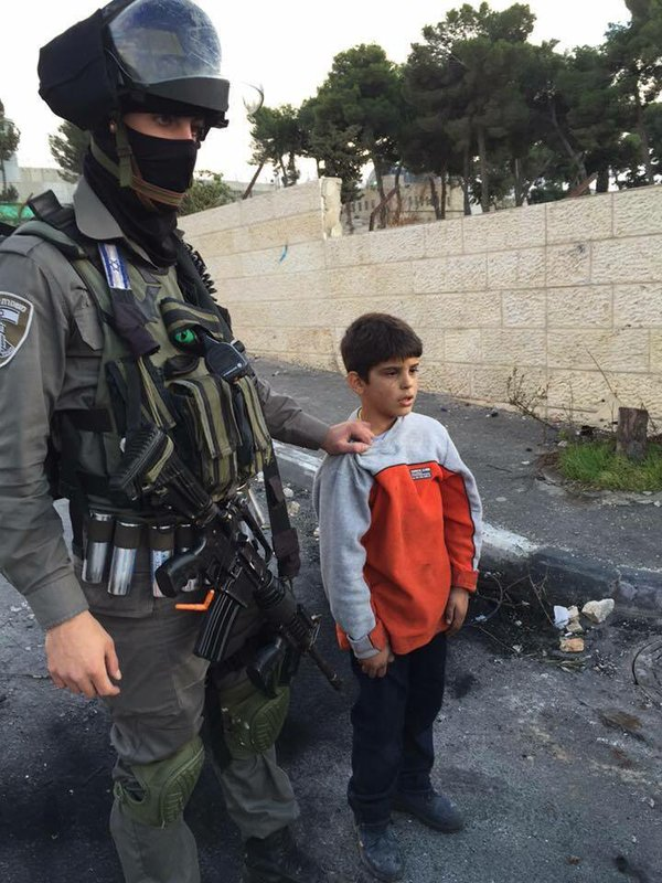 Israeli army arrested 6 year old Abdullah Yousef from Aida refugee camp, Bethlehem https://t.co/Tzxhn0yq5U