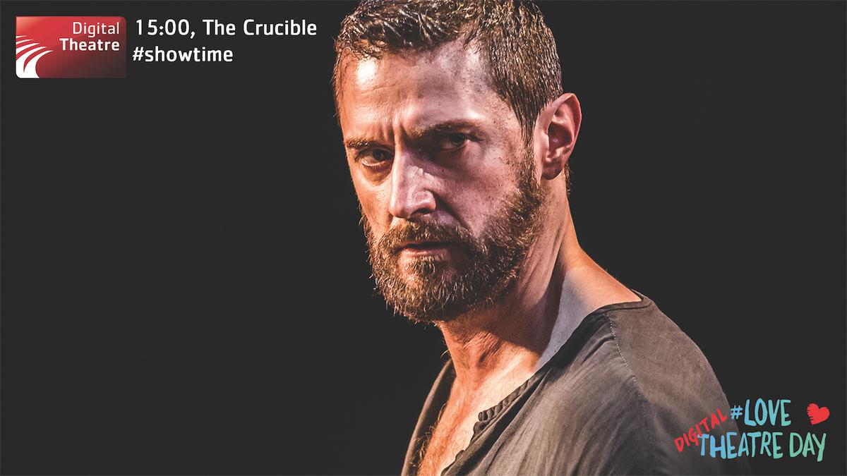 Hit play on #TheCrucibleonScreen at 15:00. @yfarber's magnificent production stars @RCArmitage #LoveTheatreDay https://t.co/gqscePoYzW