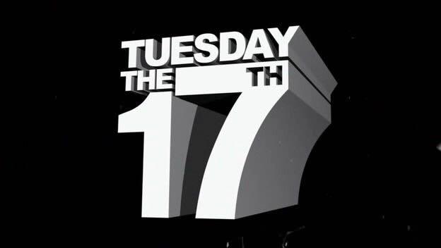 It's TUESDAY...the 17TH!! AAAAAAHHH!! @JamesRoday @SteveFranks @Omundson @MaggieLawson @NelsonKirsten @TheKurtFuller https://t.co/RSZE7KbsBC