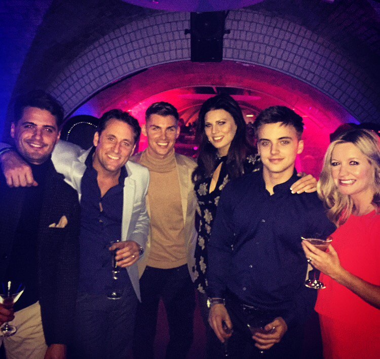 Thanks @Channel4 for a lovely evening! @NicPickard @Alexfletcher72 @ParryGlasspool @TheFabSantino @MrkieronR