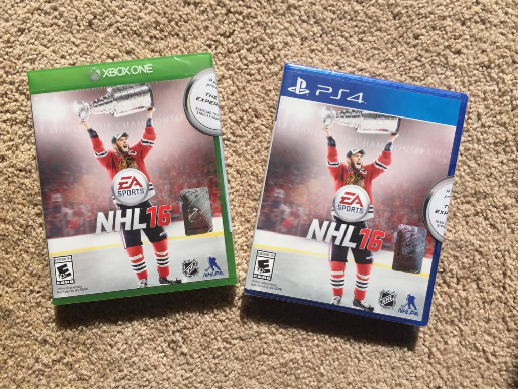 Retweet this & follow me and if the @lakings win tonight you will have a chance to win a @EASPORTSNHL 16 game https://t.co/XsBogvU8Dc