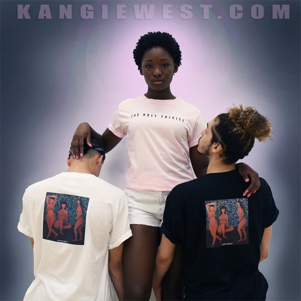 The Holy Trinity collection is now for sale on https://t.co/ZJZKr3jFUI. RT this for a chance to win a free shirt! https://t.co/ELylCi5FA5