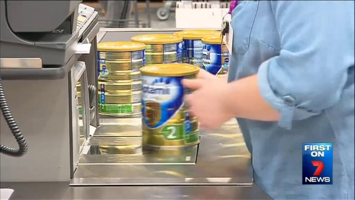 Cheap baby formula sparked a frenzy among shoppers as Costco Moorabbin opened its doors for the & Cheap baby formula sparked a frenzy among shoppers as costco ...