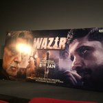 RT @Official_Wazir: The stage is set, are you? Come on, make some noise as the #WazirTrailer will be out first on Facebook soon! https://t.…