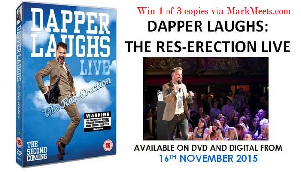 Win 1 of 3 copies of @DAPPERLAUGHS on DVD. Follow and RT to enter https://t.co/1YG5XKEMWY Closes Mon 23rd Nov 2015.