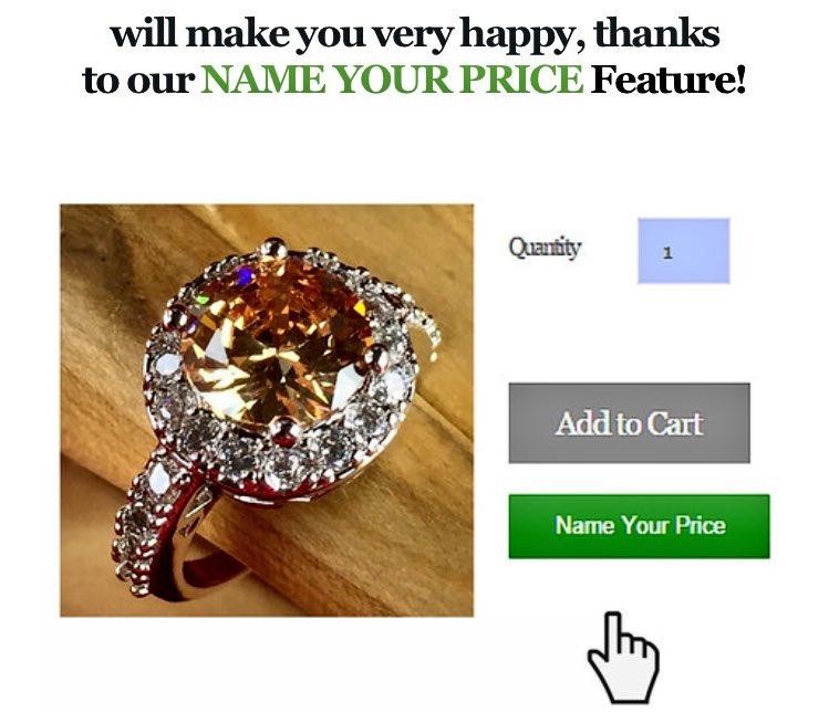 """Name your own Price!"" Win exotic jewelry from https://t.co/y2UFZvqHk6 https://t.co/ctdy2ioVhB"