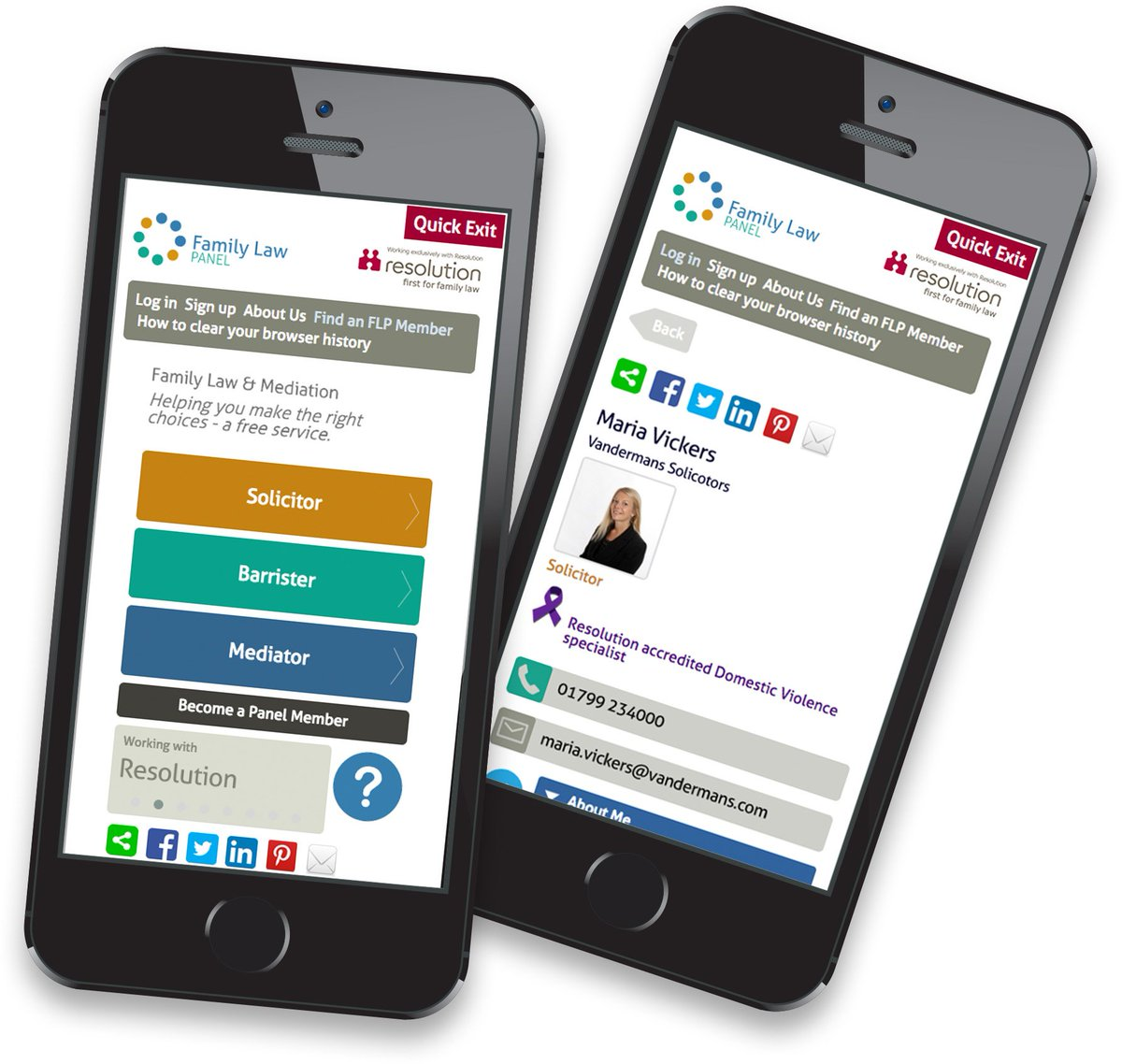 Have you seen our new way of accessing FREE family law information? #divorce #children #domesticviolence https://t.co/gve7F1JCnz