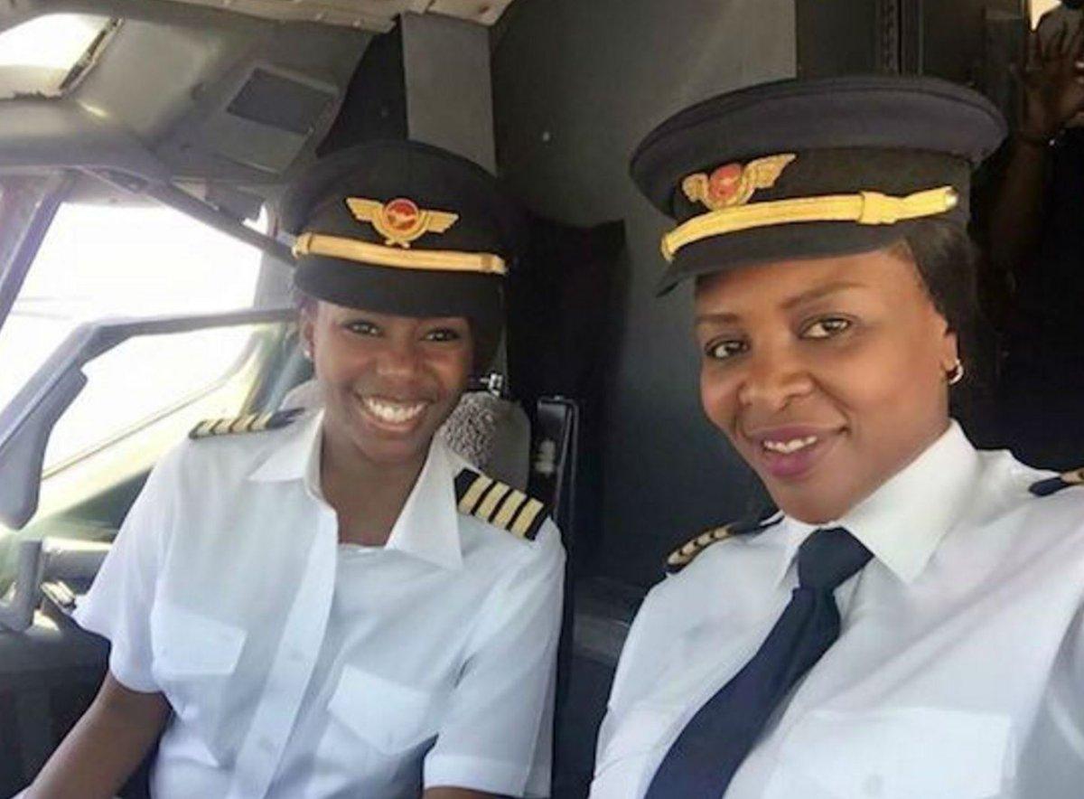 Meet Zimbabwe's first all-woman flight deck crew https://t.co/aQRMrJNE3Z #LeanIntoAviation #AvGeek #CrewLife https://t.co/VLlgGKbN3H